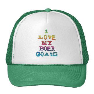 I Love My Boer Goats Hats