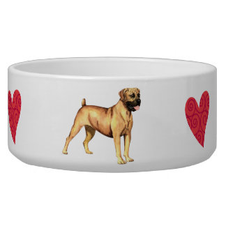 I Love my Boerboel Bowl