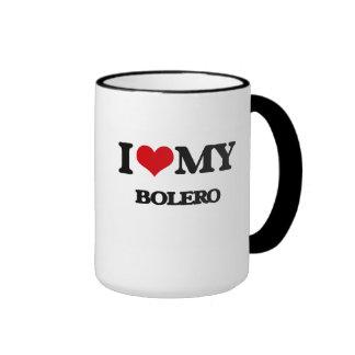 I Love My BOLERO Ringer Coffee Mug