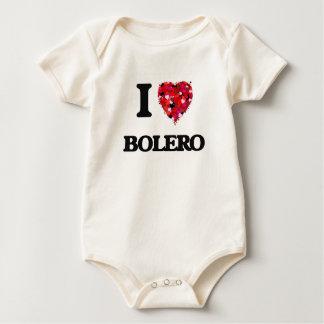 I Love My BOLERO Romper