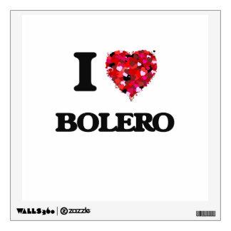 I Love My BOLERO Wall Graphics