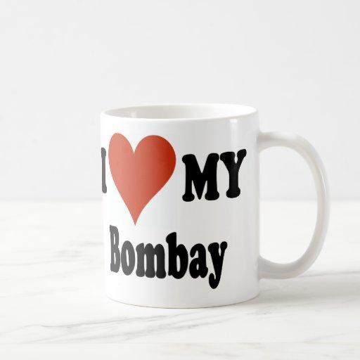 I Love My Bombay Cat Mechandise Coffee Mug