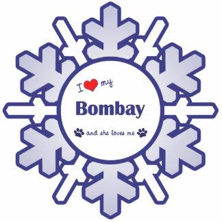 I Love My Bombay (Female Cat) Photo Cutout