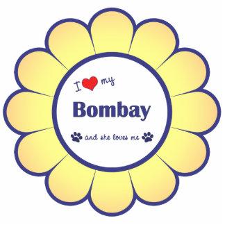 I Love My Bombay (Female Cat) Photo Statuette