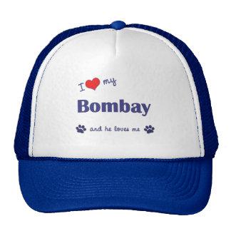 I Love My Bombay (Male Cat) Trucker Hat