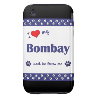 I Love My Bombay (Male Cat) iPhone 3 Tough Covers