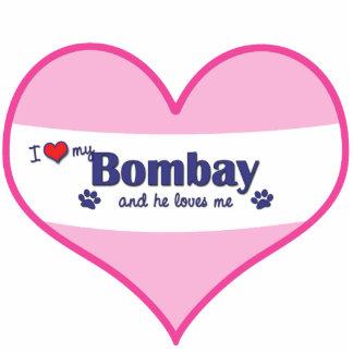 I Love My Bombay (Male Cat) Photo Statuette