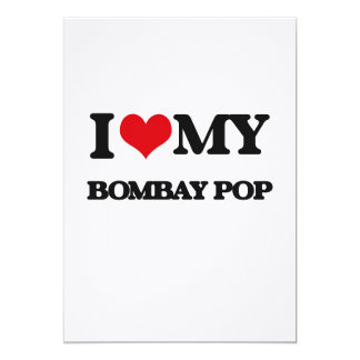 I Love My BOMBAY POP Announcement Cards