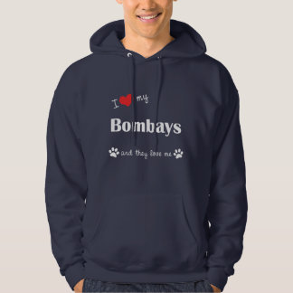 I Love My Bombays (Multiple Cats) Pullover