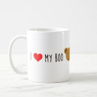 i love my boo bear mug