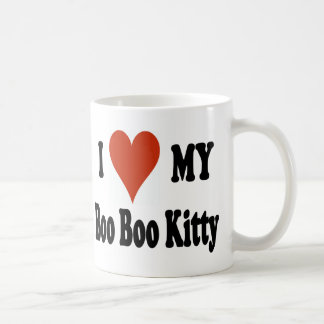 I Love My Boo Boo Kitty Coffee Mug