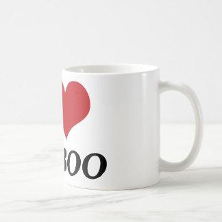 I Love My Boo (Heart) Classic White Coffee Mug