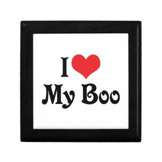 I Love My Boo Keepsake Box