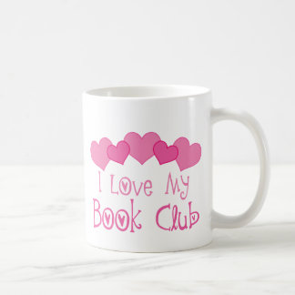 I Love My Book Club Mug
