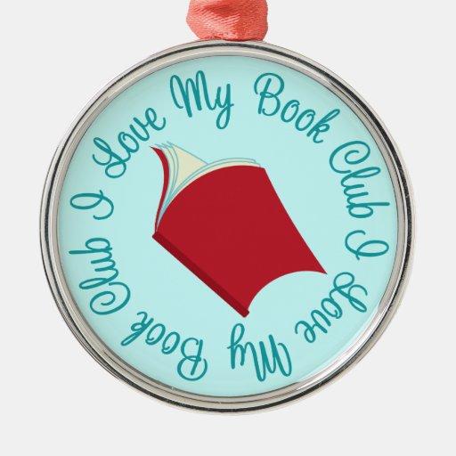 I Love My Book Club Ornament Keepsake Gift