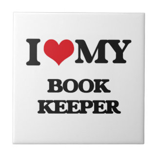 I love my Book Keeper Ceramic Tile
