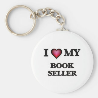 I love my Book Seller Keychain