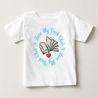 I Love My Bookclub Baby T-Shirt