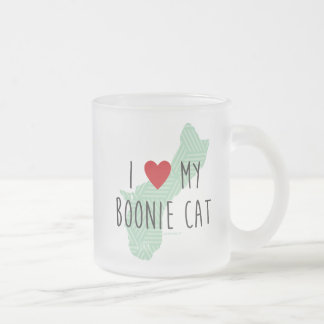 I Love My Boonie Cat Mug