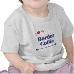 I Love My Border Collie (Female Dog) Tshirt