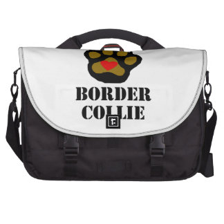 I Love My Border Collie Commuter Bags