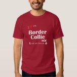 I Love My Border Collie Mix (Female Dog) Tee Shirt