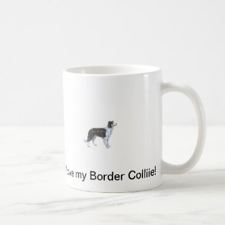 I love my Border Collie Mug! Coffee Mug