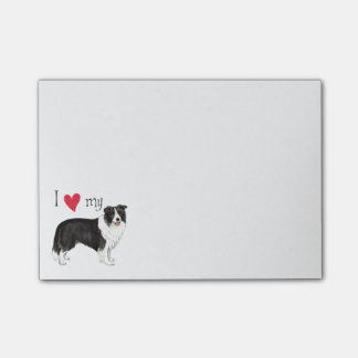 I Love my Border Collie Post-it® Notes