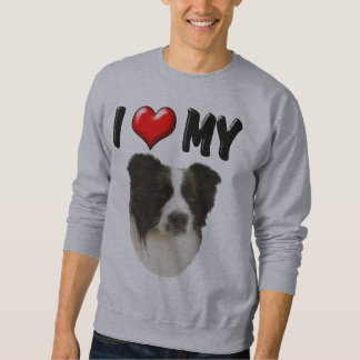 I Love My Border Collie Sweatshirt