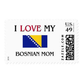 I Love My Bosnian Mom Stamp