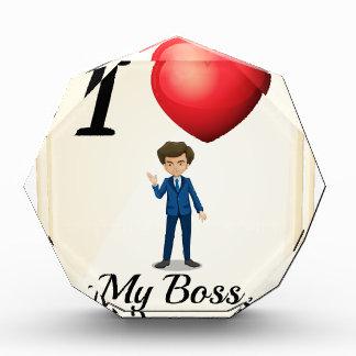 I love my boss award