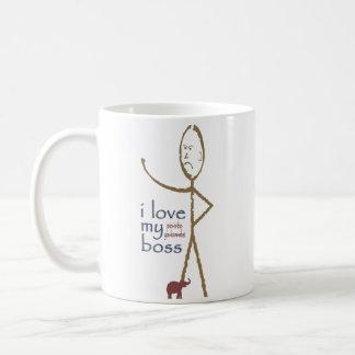 """I love my . . . . boss"" Coffee Mug"
