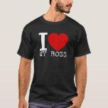 I Love My Boss (White) T-Shirt