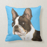 I Love my Boston Terrier Pillows