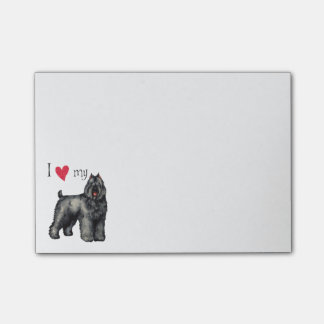 I Love my Bouvier Post-it Notes