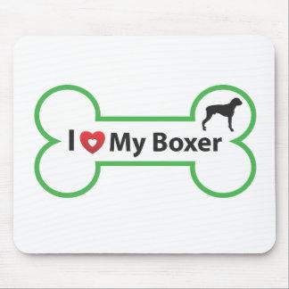 i love my boxer.ai mouse pad