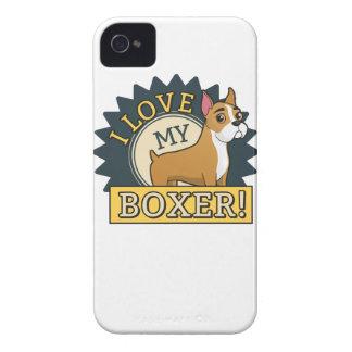 I Love My Boxer Case-Mate iPhone 4 Case