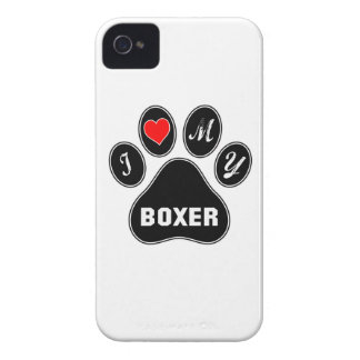 I love my Boxer. Case-Mate iPhone 4 Case