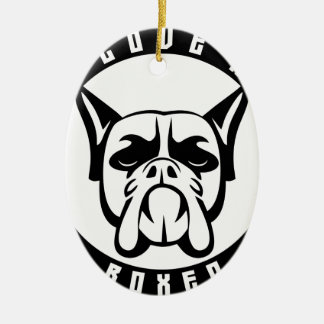 I LOVE MY BOXER dog pet breed Ornament