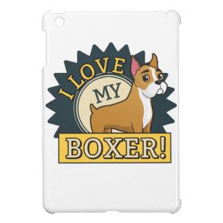 I Love My Boxer iPad Mini Case
