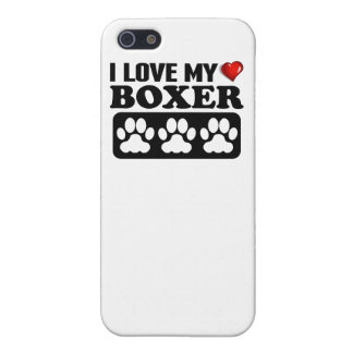 I Love My Boxer iPhone 5/5S Case
