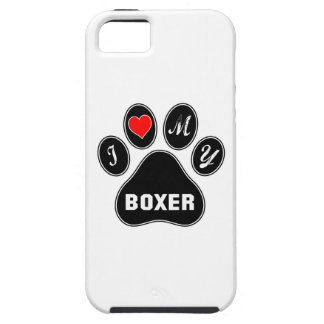 I love my Boxer. iPhone 5 Covers