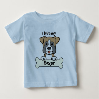 I Love My Boxer Infant T-shirt