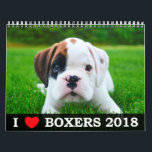"I LOVE MY BOXERS 2018 CALENDAR<br><div class=""desc"">Get your I LOVE MY BOXERS 2018 Calendar! We searched far and wide for fantastic photos of Boxers for this calendar, and after running a contest among boxer enthusiasts all over the world, chose the best of the best! This calendar represents our beloved Boxer dogs, charming and sweet, just the...</div>"