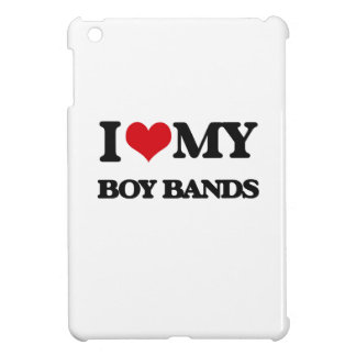 I Love My BOY BANDS Case For The iPad Mini