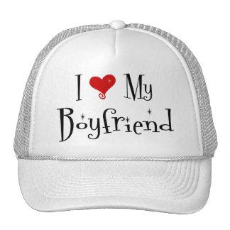 I Love My Boyfriend (2) Hat