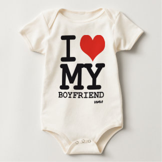 i love my boyfriend baby bodysuit