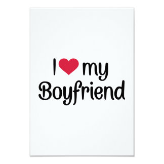 I love my boyfriend card