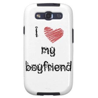 I love my boyfriend galaxy SIII case