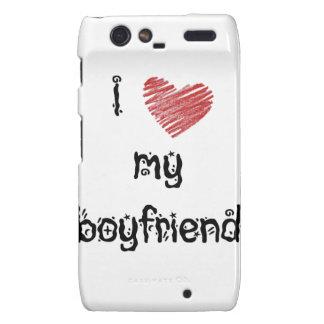 I love my boyfriend droid RAZR case